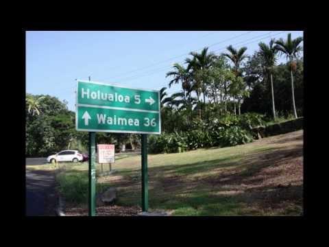 Southbound on Mamalahoa Hwy thru Holualoa Village