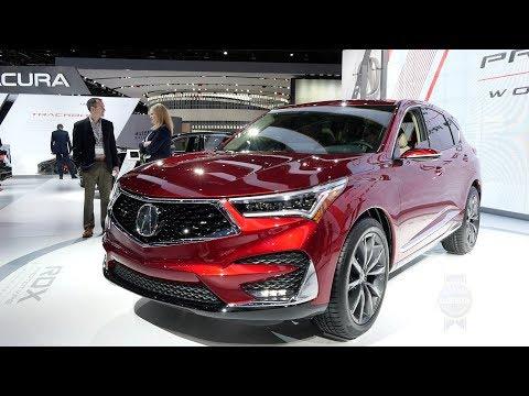 2019 Acura RDX Prototype - 2018 Detroit Auto Show