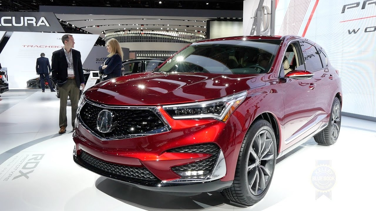 2019 Acura Rdx Prototype 2018 Detroit Auto Show Youtube