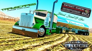 Rethwisch Transport Peterbilt 389 Blood, Sweat & Gas American Truck Simulator