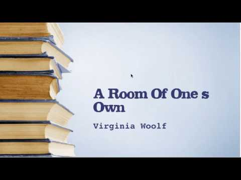 A Room Of One's Own by Virginia Woolf.