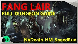 Fang Lair - FULL GUIDE | SpeedRun-Nodeath-Hardmode