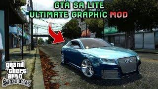 WAHH!! GRAFIKNYA MANTAP BANGAT COY!! | GTA SA LITE ULTIMATE GRAPHIC MOD | Support All Os Android