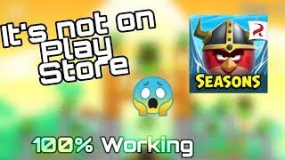 Angry Birds Season l Mod Apk