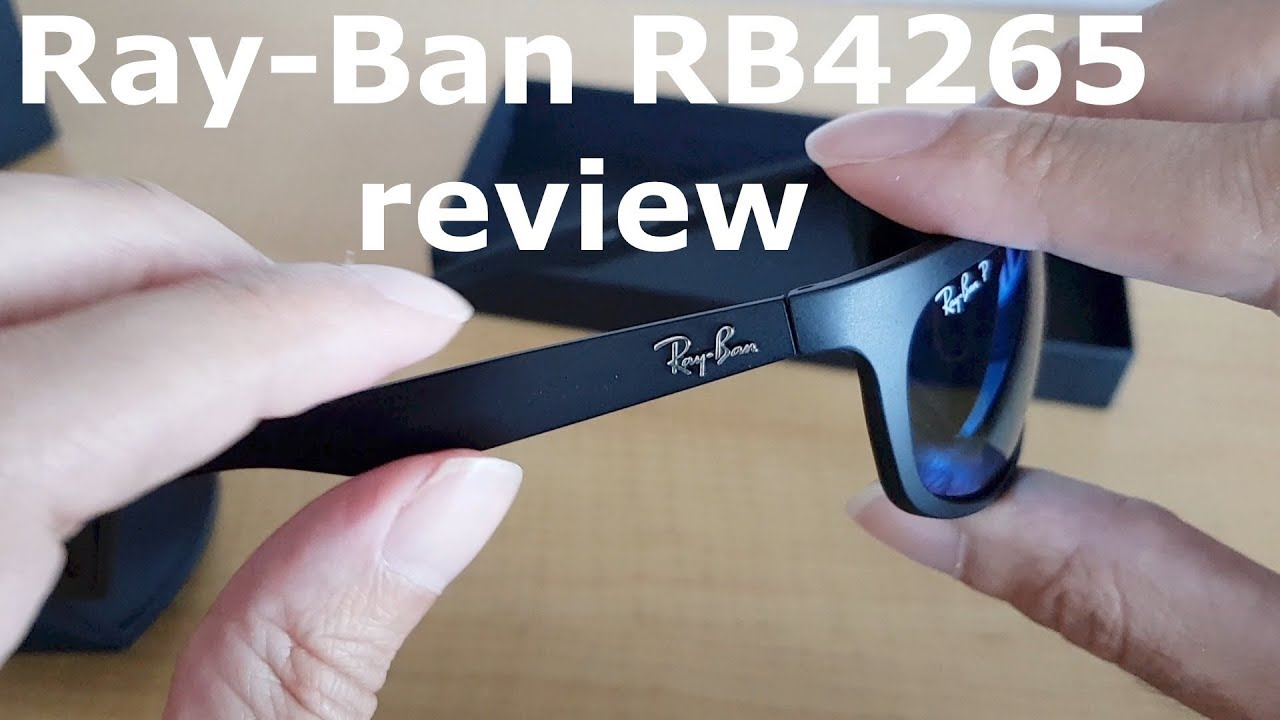 f39fd64f0f7 Ray-Ban RB4265 chromance glasses review - YouTube