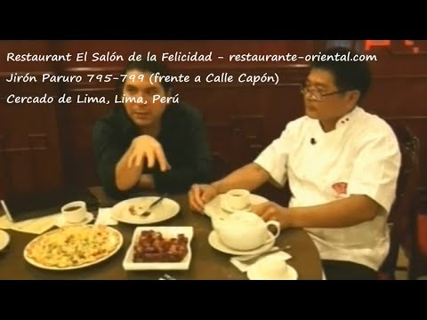 Restaurant El Salón De La Felicidad - Cercado De Lima, Lima, Perú