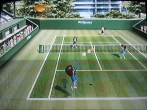 wii sports tennis how to cheat to win everytime youtube rh youtube com wii sports resort table tennis guide Wii Sports Boxing