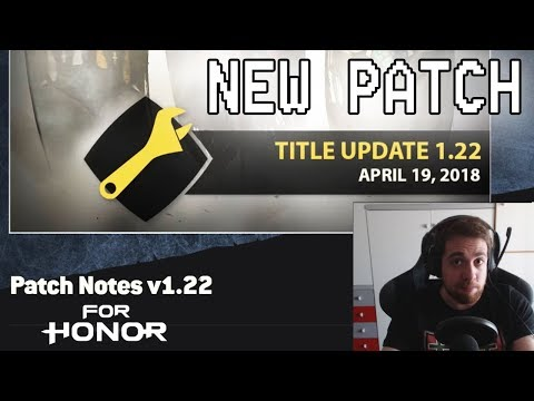 [For Honor] Patch 1.22! - New Execution Leaked?