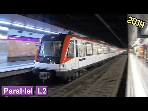 Metro de Barcelona: Paral·lel L2 (TMB 9000)