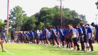 blinn football first practice sights sounds aug 8 2015
