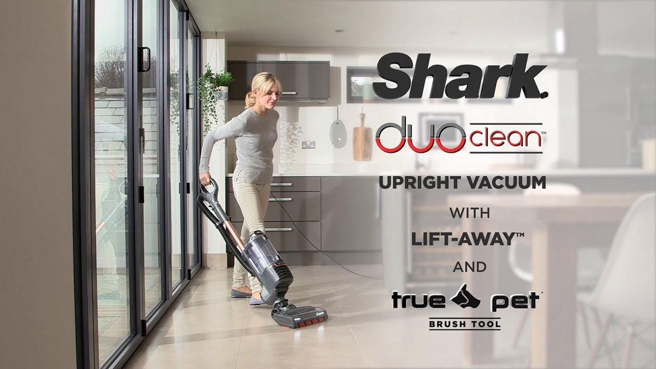 Shark Duoclean Lift Away Upright Vacuum Cleaner Truepet Model Nv700ukt