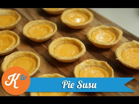 Milk Pie Recipe | JANE SUSANTO