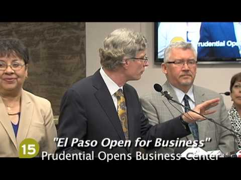 El Paso Open For Business; Prudential Opens Business Center