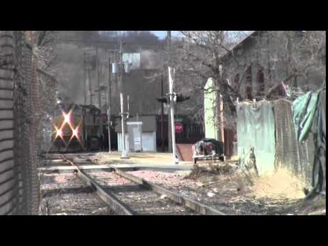 BNSF CN UP and CP in East Dubuque, IL Dubuque and