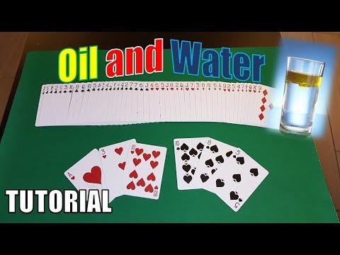 ACQUA E OLIO 3 VERSIONI BELLISSIME MAGIA CON SPIEGAZIONE | OIL & WATER REVEALED