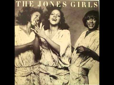 THE JONES GIRLS   WHO CAN I RUN TO