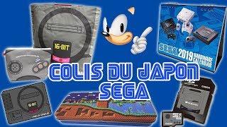 colis du japon : special goodies Sega via zenmarket