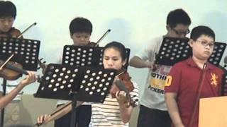浸信會仁愛堂小提琴詩班--你真偉大 2011.7.24