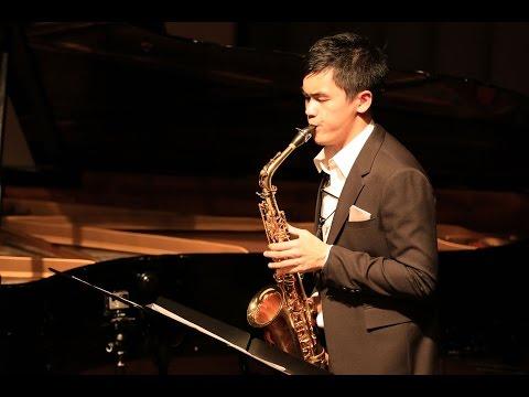 Alexander Glazunov Saxophone Concerto, Op.109 part 2  Jacky Lai