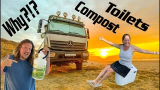 Unpacking BEST Composting Toilet for Expedition Truck ever ► | Why we decided for this RV toilet?!?