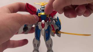 Vid 103: 1/144 NG God Gundam (A.K.A Burning Gundam)