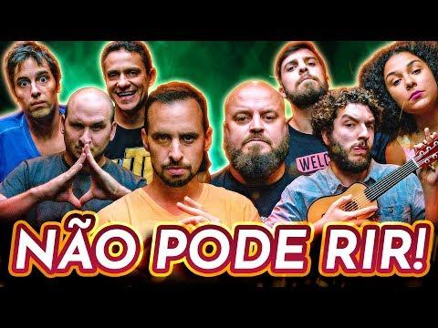 NÃO PODE RIR com BORA RIR Stand-up Paulinho Serra Marcos Rossi Yas Fiorelo e Pedro Pan