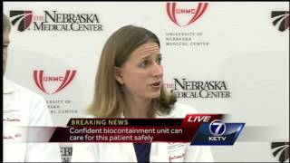 Hospital officials announce Neb. Med Center will treat Ebola patient