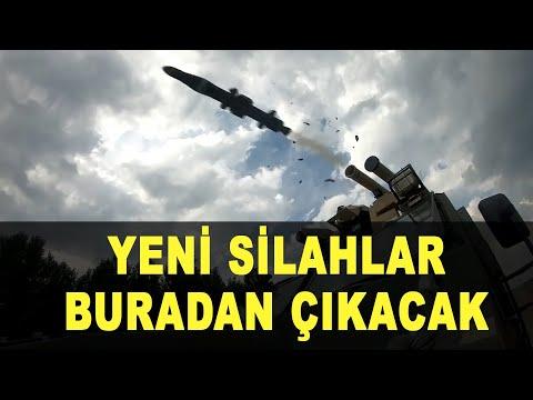 ASELSAN'ın yeni silah fabrikası üretime başlıyor - Turkey's new weapon factory begins production