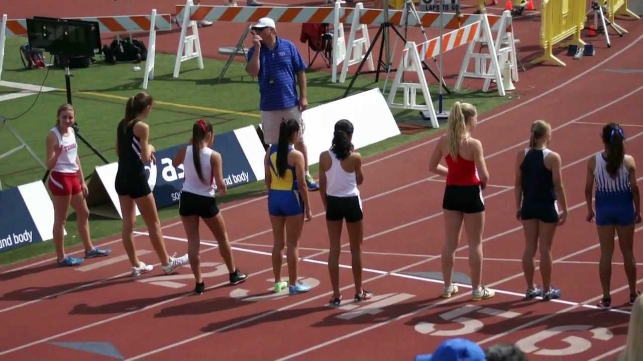 FVHS Track and Field 800m Varsity Girls Irvine Inv 10Mar12 ...