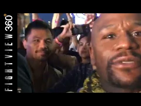 📽MAYWEATHER & PACQUIAO MEET IN JAPAN! THIRST TRAP? JOKES ON KHAN😆! MANNY ARUM MONEY TAX ISSUES?