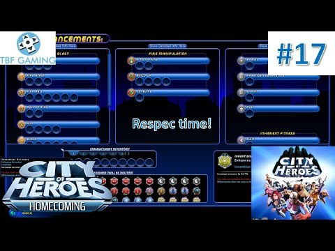 City Of Heroes 2019 E17 Time For A Hero Respec!  City Of Heroes Homecoming 2019