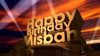 Happy Birthday Misbah