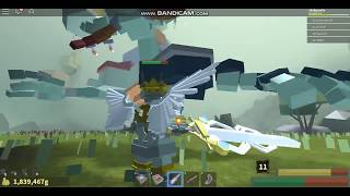 Dragon Slaying (Angel Greatsword Showcase) - FANTASTIC FRONTIER (ROBLOX)