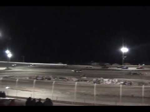 Modified main event night 1 Dirt Track Championships at Rattlesnake Raceway in Fallon Nv