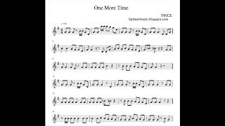 [Sheet Music / 楽譜] TWICE One More Time