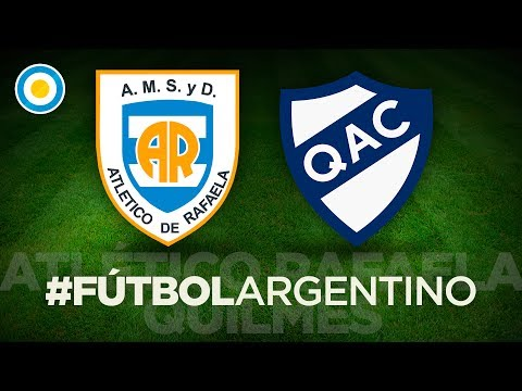 Torneo de la Independencia - Rafaela 1 - 0 Quilmes -  Gol de Luna