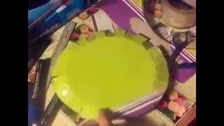 как сделать фризби из картона(моё 1 видео!)