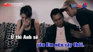 Ghen Chi Vi Yeu Karaoke - Lam Chan Huy