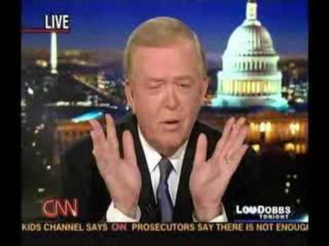 Lou Dobbs Tonight - 03.28.07 - Lou Takes on Leftist SPLC