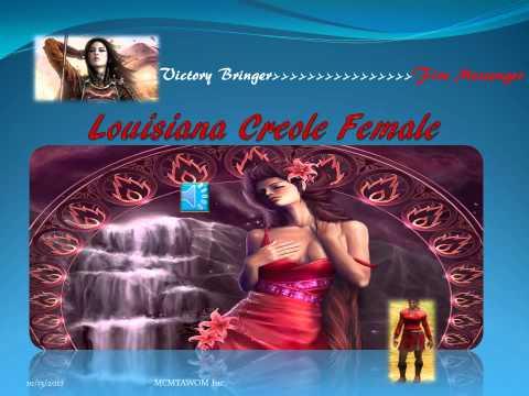 Louisiana Creole Female