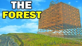 The Forest - 🌲 BRAND NEW BASE!! 🌲 The Forest Multiplayer!! (The Forest Gameplay)