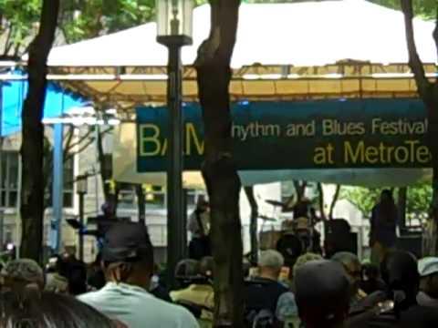 Bernie Worrell & SociaLybrium @ MetroTech Center- Brooklyn, NY  6/10/10