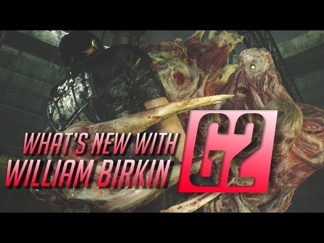 William Birkin Resident Evil 2 Remake G2 Analysis - (RE2 Remake 2nd G transformation)