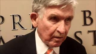 Tennessee Football: Johnny Majors Speaks to Media (9/15)