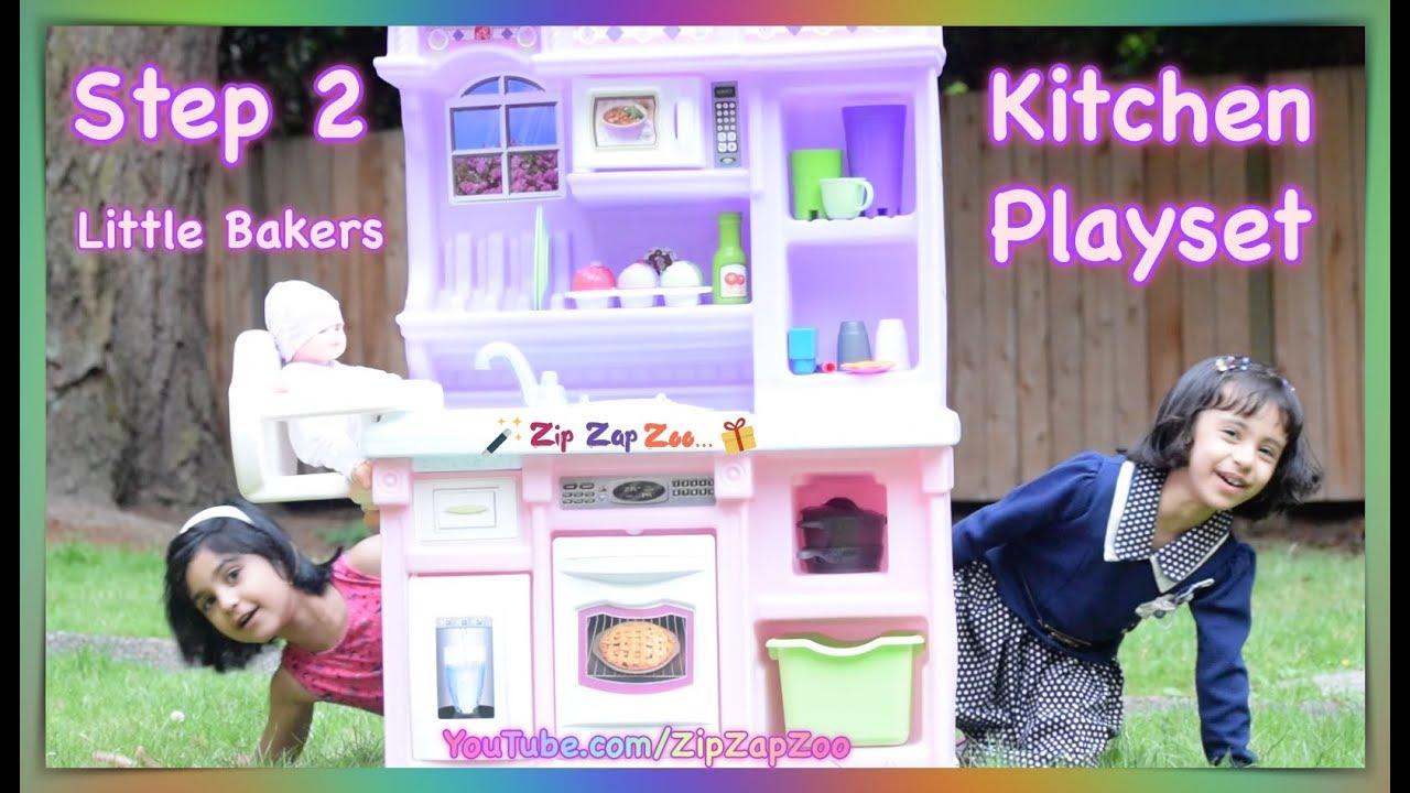 step2 little bakers kitchen playset zip zap zoo - Step2 Little Bakers Kitchen