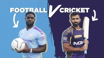 FOOTBALL v CRICKET CHALLENGE | Man City v Knight Riders