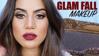 Fall Glam Makeup Thumbnail