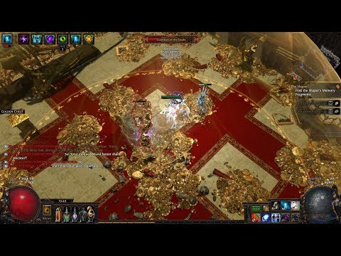 Path of exile. Tornado shot MF. Vaults run ! Currency farm.