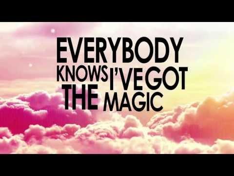 [LYRIC VIDEO] Becky G Ft. Austin Mahone - Magik 2.0 (THE SMURFS 2 SOUNDTRACK)