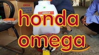 HONDA OMEGA GX25 test thử cho vui  máy xịt thuốc